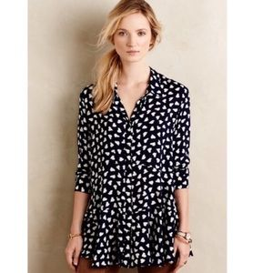 Anthropologie • TYLHO heart print tunic top